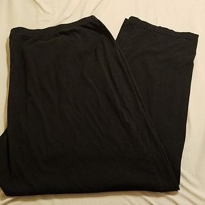 Just My Size Black Stretchy Pants